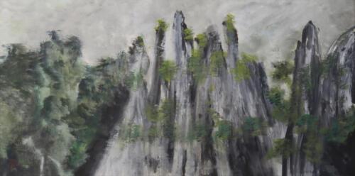 WuZhi Mountain_67x135cm